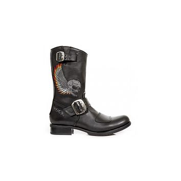 Newrock - M-GY32-S10 Boot Biker Boots
