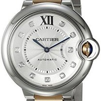 Cartier Women's WE902031 Ballon Bleu Analog Display Automatic Self Wind Two-Tone Watch