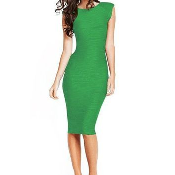 Ruched  Bodycon Party Dress