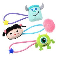 Sulley Mike Boo Ponytail Holder Disney Store Japan Hair Accessory Monsters Inc - VeryGoods.JP