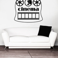 Vinyl Wall Decal Sticker Bedroom Cinema Film Home Theatre Movie Family Gift r1564