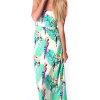 Birds of Paradise Camille Convertible Maxi
