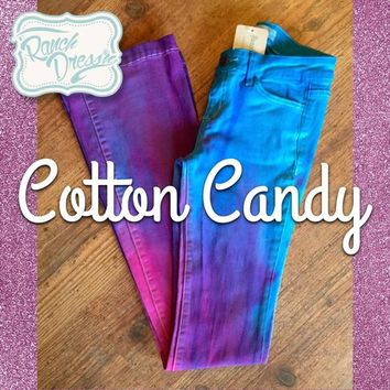 Cotton Candy Colored Jeans (Youth & Adult) - Ranch Dress'n