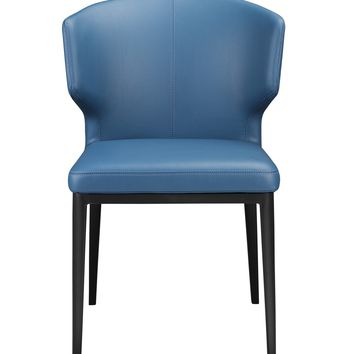 Delaney Side Chair Steel Blue-Set Of Two