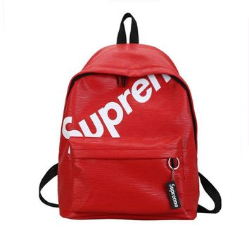 On Sale Hot Deal Back To School Comfort College Bags Korean Stylish Alphabet Casual Backpack [353204404260]