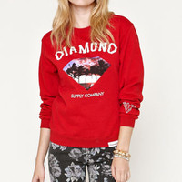 Diamond Supply Co Diamond Palm Tree Pullover Fleece at PacSun.com