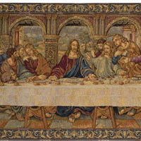 The Last Supper VII Tapestry Wall Hanging