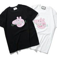 Gucci with Peppa Pig  short sleeve top blouse shirt