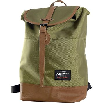 Travelers Club Heavy Duty 14 Laptop Backpack - Green