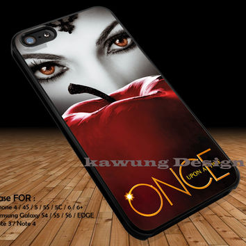 Red Eyes Woman iPhone 6s 6 6s+ 5c 5s Cases Samsung Galaxy s5 s6 Edge+ NOTE 5 4 3 #movie #disney #animated #onceuponatime DOP2100