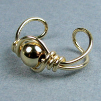 14k Gold Filled Ear Cuff or Choice of 56 beads