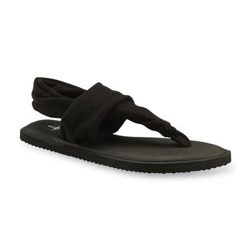 Women's Zailey Update Black Yoga Sling Sandal - Kmart