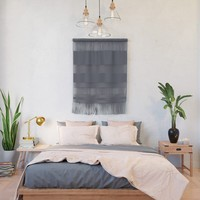 Grey with Age Wall Hanging by spaceandlines