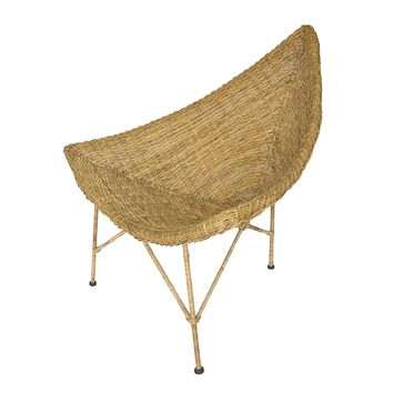 Islay Rattan Lounge Chair