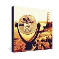 Shannon Clark Bridge View Gallery Wrapped Canvas