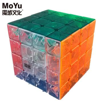 Brand Moyu AoSu 62mm 4x4x4 Speed Magic Cube Puzzle Cubes Kids Toys Educational Toy