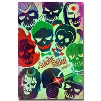 Joker Suicide Squad Harley Quinn Abstract Simple Art Silk Poster Print 13x20 24x36 inches Movie Pictures
