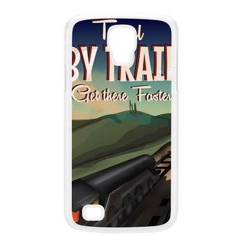 Travel by train White Hard Plastic Case for Galaxy S4 Active by Nick Greenaway