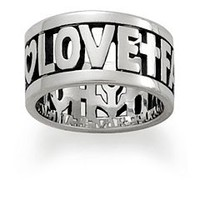 """Faith, Hope, & Love"" Ring 