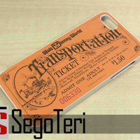 Vintage Disney World Ticket - iPhone 4/4S, iPhone 5/5S, iPhone 5C and Samsung Galaxy S3, S4