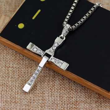 Fast and the Furious Vin Diesel  Jesus Cross Necklaces #REAL MEN LOVE JESUS