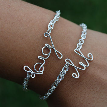 And Little Bracelet Set Sorority Sisters Jewelry