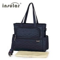 New Arrival 100% Nylon Fashion Baby Diaper Bags Nappy Stroller Bags Maternity Mommy Bag Multifunctional Changing Bags