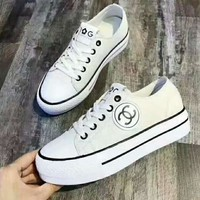 Chanel Women Fashion Leather Casual Shoes H-CSXY