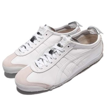 Asics Onitsuka Tiger Mexico 66 White Leather Men Women Shoes Sneakers D7C3L-0101