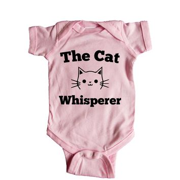 Cat Whisperer Baby Onesuit