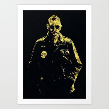 Taxi Driver - The Legend Art Print by naumovski
