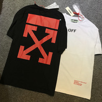 Off White Cotton Casual T-shirts Round-neck Short Sleeve Bottoming Shirt [10182826439]