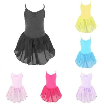 6475 Girl Kids Toddler Ballet Dance Tutu Dress Gymnastics Leotard Dancewear Outfit Dance Wear