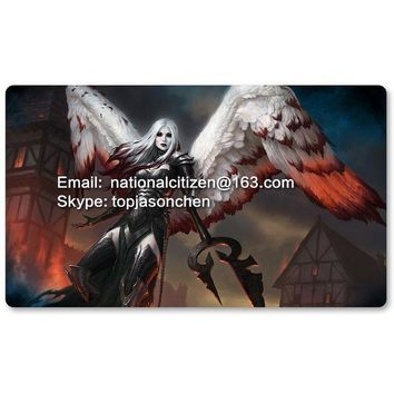 ESBONIS Many Playmat Choices - Avacyn the Purifier - MTG Board Game Mat Table Mat for Magical Mouse Mat the Gathering 60 x 35CM