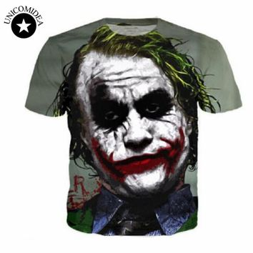 Dark Knight Joker Face Shirt
