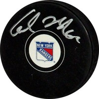 Steiner Sports Carl Hagelin New York Rangers Autographed Hockey Puck (Ran Team)