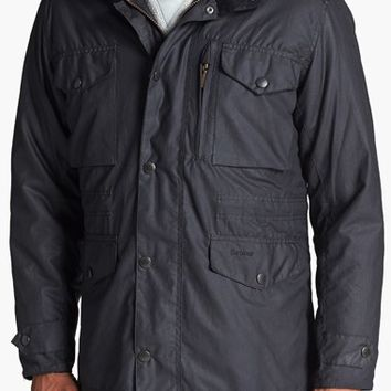 Men's Barbour 'Sapper' Weatherproof Waxed Relaxed Fit Jacket,
