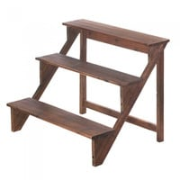 Wooden Steps Plant Stand