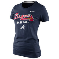 Atlanta Braves Women's Practice T-Shirt 1.4 by Nike - MLB.com Shop
