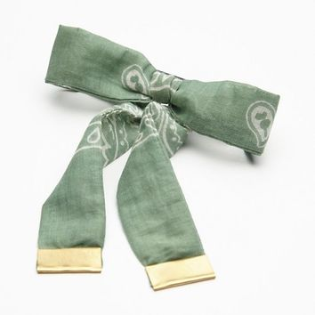 Free People Bandana Bow Barrette