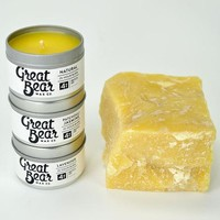 Scented Beeswax Candle Tins - 4 oz. Trio