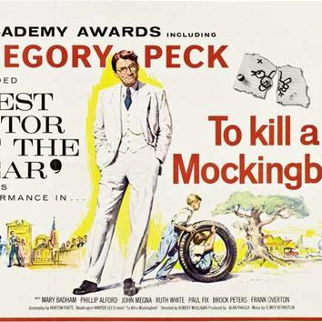 To Kill a Mockingbird (UK) 30x40 Movie Poster (1963)