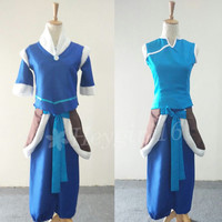 2014 New Avatar The Legend of Korra Korra Cosplay Costume Made to Order