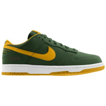 Nike Dunk Low (NFL Green Bay Packers) iD Men's Shoe