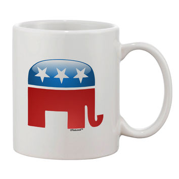 Republican Bubble Symbol Printed 11oz Coffee Mug