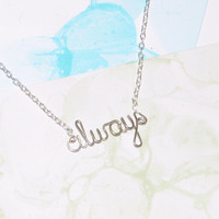 Always Necklace - Harry Potter Snape Love Quote