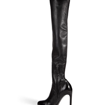 Ermanno Scervino - Leather Over-the-Knee Boots