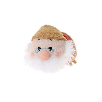 "disney authentic tsum tsum mini 3 1/2"" seven dwarfs doc plush new with tag"