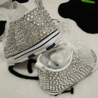 Baby Bling Newborn Infant High Top Tennis Shoes Booties