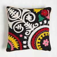 Boho Your Place or Vine? Pillow by Karma Living from ModCloth